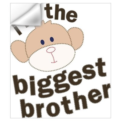 big brother monkey Wall Decal