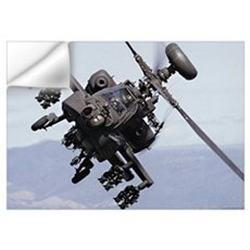 Apache Attack US Army gift idea Wall Decal