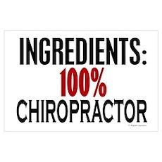 Ingredients: Chiropractor Poster