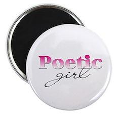 Poetic girl Magnet