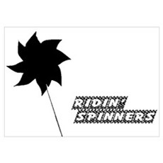 Ridin' Spinners Poster
