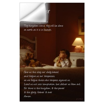 Child Praying Wall Decal