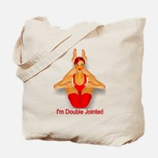 IM DOUBLE JOINTED Tote Bag