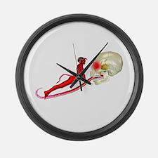 SHE DEVIL Large Wall Clock