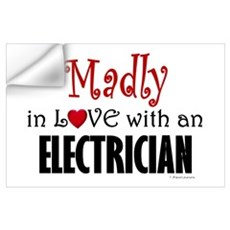 Madly In Love (Electrician) Wall Decal
