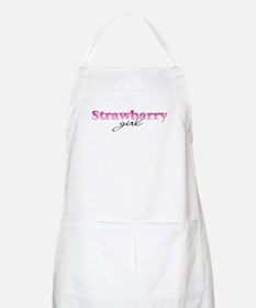 Strawberry girl BBQ Apron