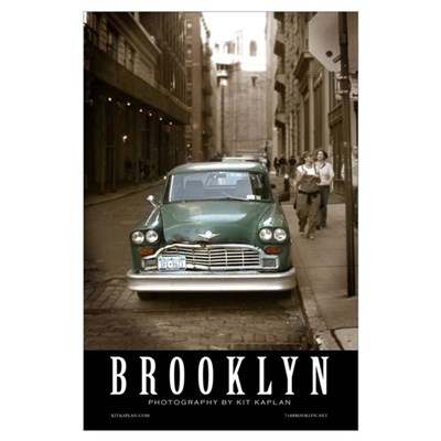 NOW ON SALE! Checker Cab Poster