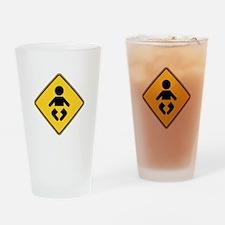 Warning : Baby Drinking Glass