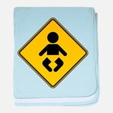 Warning : Baby baby blanket