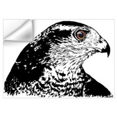 Goshawk B/W Wall Decal