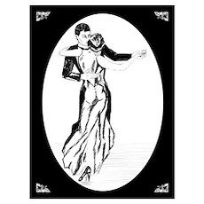 Women Waltzing Poster
