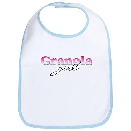 Granola girl Bib