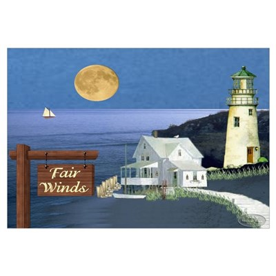 Fair Winds Cottage Poster