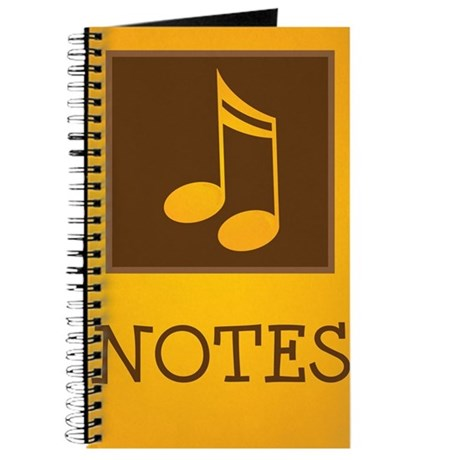 Music Notes Journal Practice Book