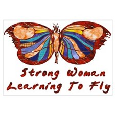 Strong Woman Learning To Fly