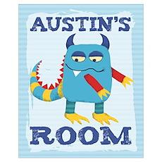 Austin's ROOM Mallow Monster Poster