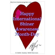 Shiner Awareness Poster