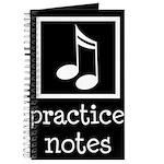 Music Practice Journal Gift