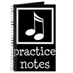 Music Practice Journal Gift