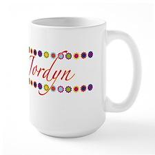 Jordyn with Flowers Mug