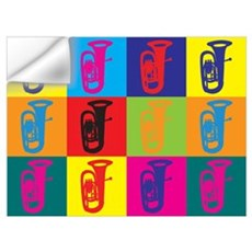 Tuba Pop Art Wall Decal