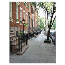 New York City Street Poster
