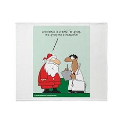 Christmas Time Throw Blanket