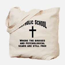 Catholic School Survivor Tote Bag