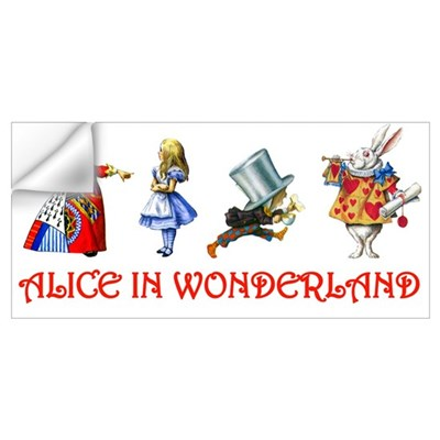 WONDERLAND Wall Decal