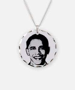 Barack Obama Necklace