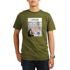 Tech Support Torture! Organic Men's T-Shirt (dark)