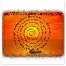 May 12th Fibromyalgia awarene Poster