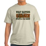 Happens At The Cabin Light T-Shirt