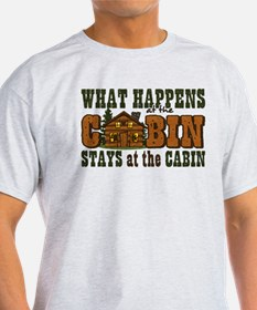 Happens At The Cabin T-Shirt