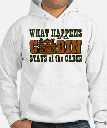 Happens At The Cabin Hoodie