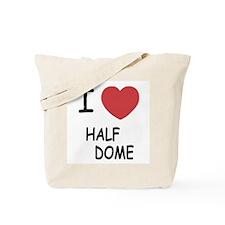 I heart half dome Tote Bag