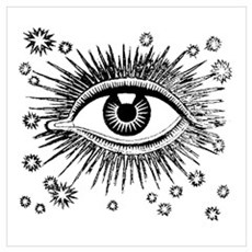 All Seeing Eye Canvas Art
