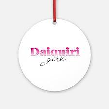 Daiquiri girl Ornament (Round)