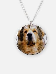 Unique Tibetan mastiff Necklace