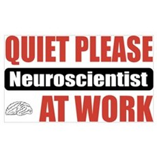 Neuroscientist Work Framed Print