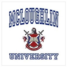 MCLOUGHLIN University Poster