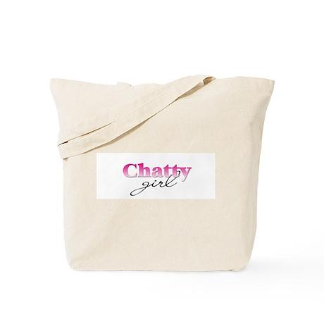 Chatty girl Tote Bag