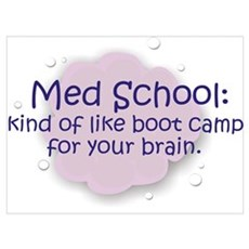 Med School Boot Camp Poster