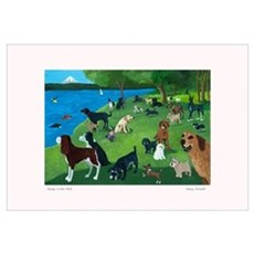 SUNDAY AFTERNOON IN THE PARK Canvas Art