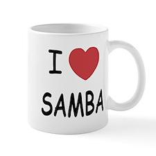 I heart samba Mug