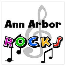 Ann Arbor Rocks Poster