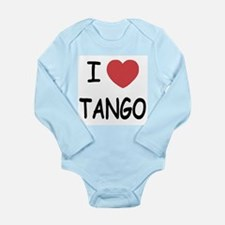 I heart tango Long Sleeve Infant Bodysuit