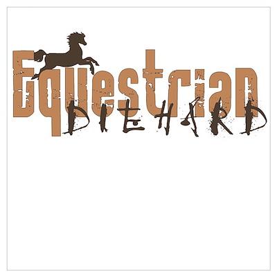 Die Hard Equestrian Poster