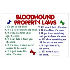 Bloodhound Property Laws 2 Poster