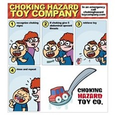 choking - first aid Poster